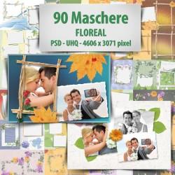 Maschere Photoshop Floreal