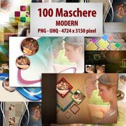 Maschere photoshop Modern
