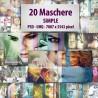 20 Maschere Simple
