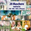 20 Maschere Fantastic