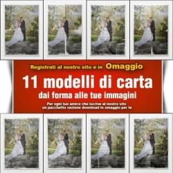11Maschere Modelli in Carta