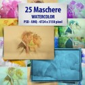 Maschere photoshop WaterColor