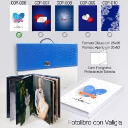 Love 01 25x35 cm + Valigia