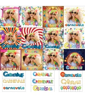 Maschere Photoshop Carnevale