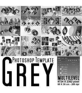 Maschere Photoshop Grey