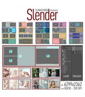 Maschere Photoshop Slender