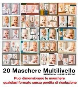 Maschere Photoshop Bambini Vol 3