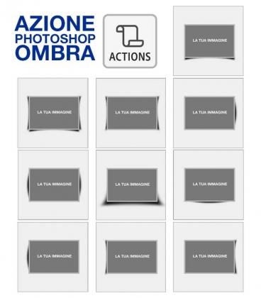 Azione Photoshop Ombre