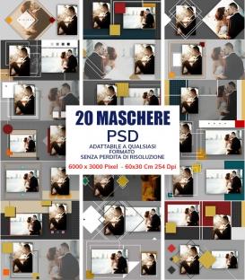 Maschere Photoshop Minimal