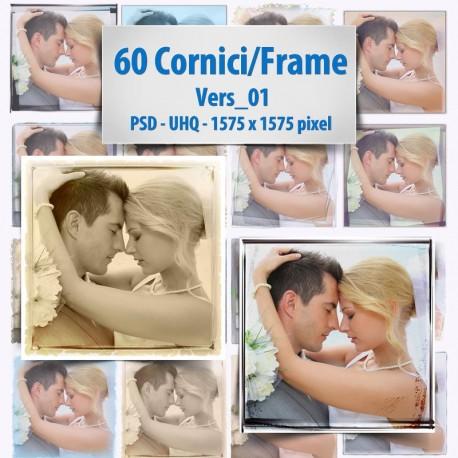 60 Frame / Cornici Immagini in png