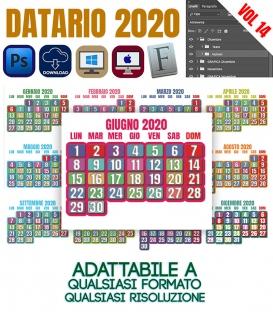 Datario Calendario 2020 Vol.14