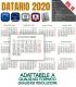 Datario Calendario 2020 Vol.15