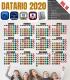 Datario Calendario 2020 Vol.16