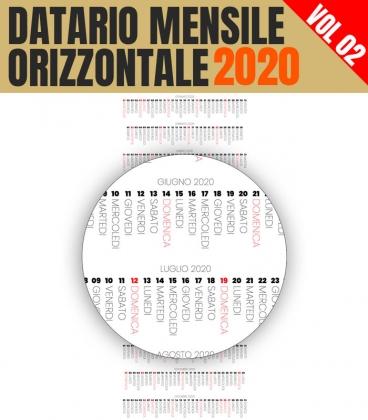 Datario Mensile 2020 Orizzontale 02