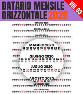 Datario Mensile 2020 Orizzontale 03