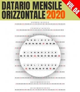 Datario Mensile 2020 Orizzontale 04