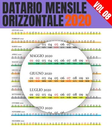 Datario Mensile 2020 Orizzontale 08
