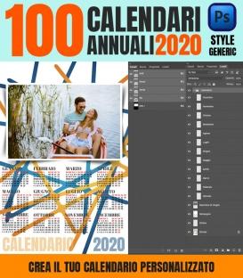 100 Calendari 2020 Personalizzati Generic