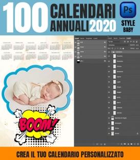 100 Calendari 2020 Personalizzati Bay