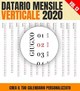 Datario Mensile 2020 Verticale 13
