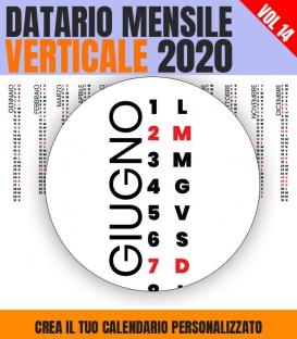 Datario Mensile 2020 Verticale 14