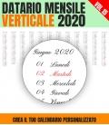 Datario Mensile 2020 Verticale 15
