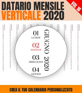 Datario Mensile 2020 Verticale 16