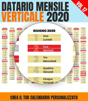 Datario Mensile 2020 Verticale 17