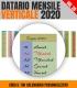 Datario Mensile 2020 Verticale 20