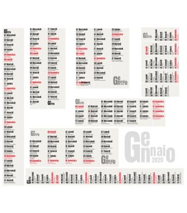 Progettazione Calendario 2020 Personalizzato