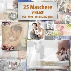 Maschere Photoshop Vintage