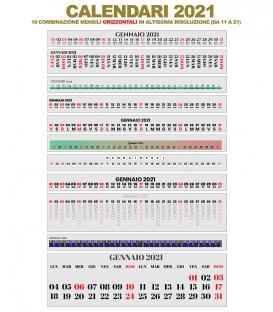 Calendario Mensile 2021 DA 11 A 21