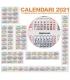 Calendario Annuali 2021 DA 75 A 81