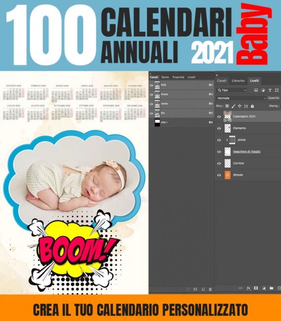 CALENDARI 2021 Collezione Baby