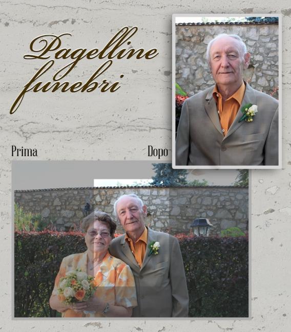 Pagelline Funebri Personalizzati