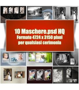 10 Maschere in Omaggio
