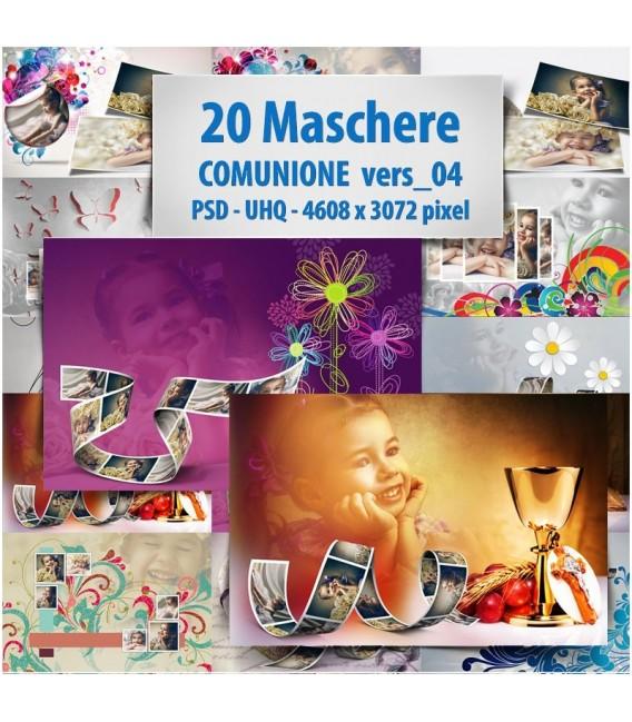 Maschere photoshop Comunione