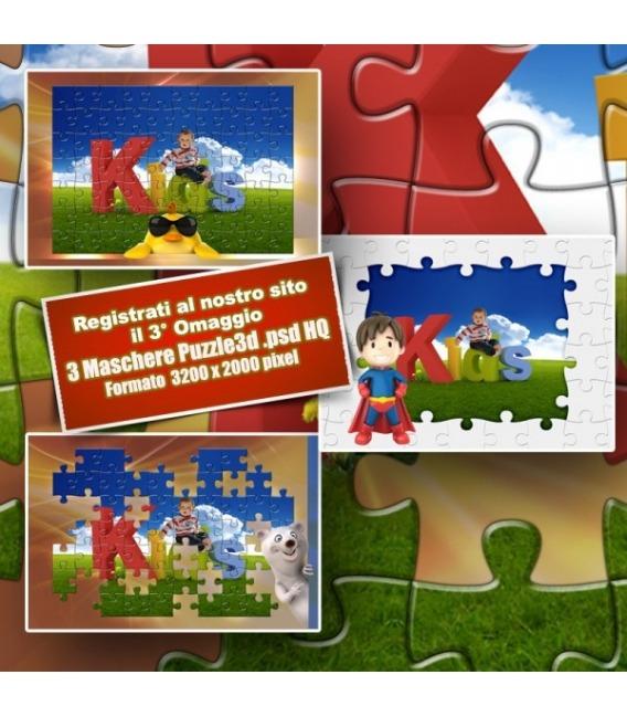 Omaggio 3 Puzzle in 3D