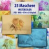 Maschere photoshop WaterColor
