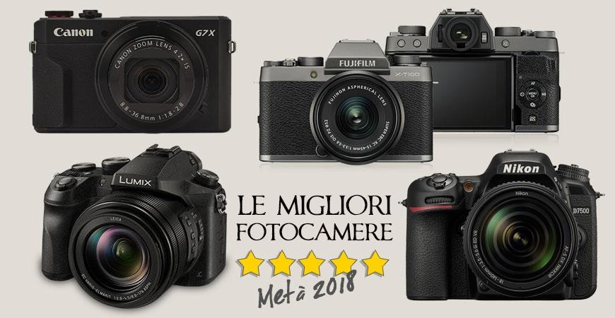 Quale fotocamera acquistare metà 2018