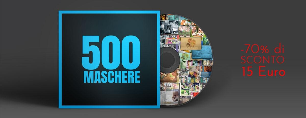 500 Maschere Photoshop